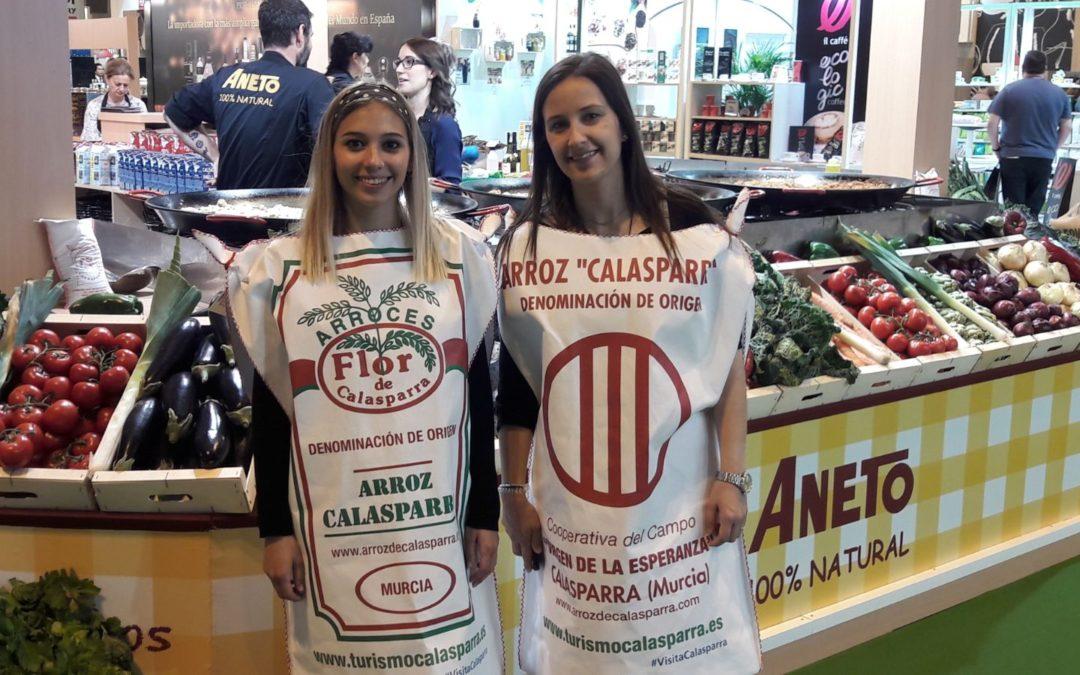 El arroz de Calasparra y los quesos de Villavieja en el 32 Salón Gourmets de Madrid